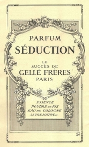 seduction of perfume