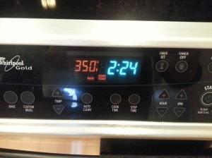 temperature set to