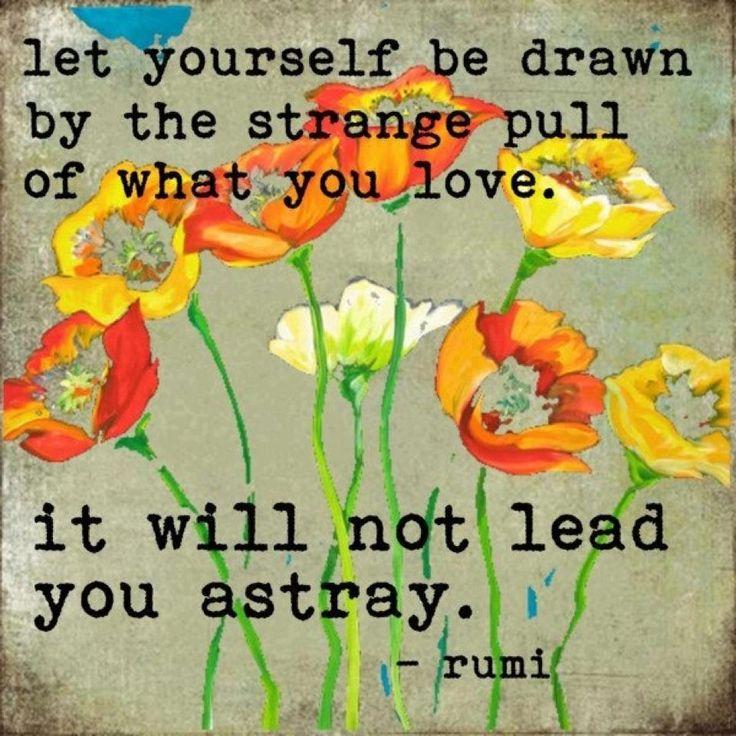 love of Rumi and orange