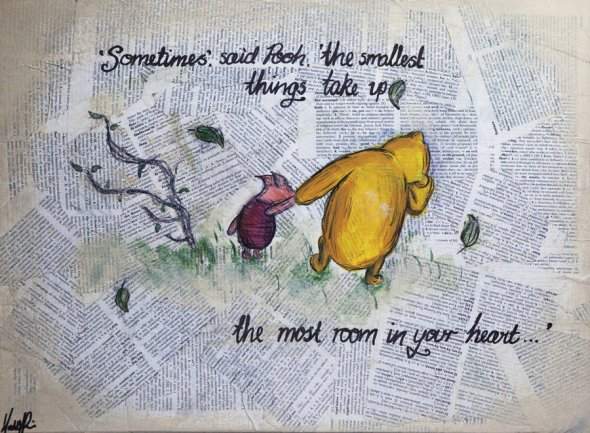pooh and piglett