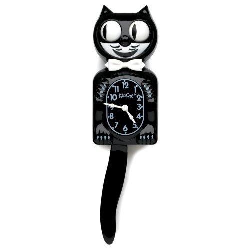 cat tail clock